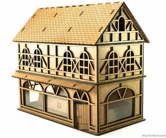 Modular House Kit: City shop