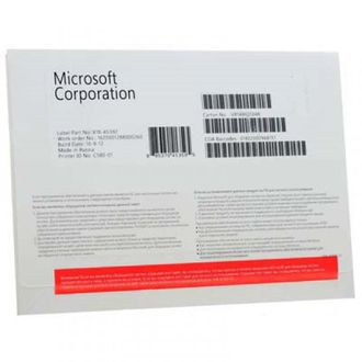 Microsoft Windows 8.1 Professional Russia x32/x64 Bit OEM Act fqc-06930