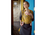 DIVA MILANO Слинг-шарф Diva Essenza, Savana, 100% хлопок, длина 4,7 м