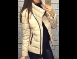 Женская весенняя куртка белая 002-05
