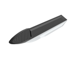 Boat Hull Unitary 51 x 12 x 6 with Side Bulges and Dark Bluish Gray Top Complete Assembly, White (62791c01 / 6034503 / 6189324)