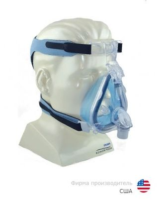 Ротоносовая маска  Philips Respironics Comfort Gel Blue