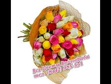 Микс 65 (мноцветные 65 роз)