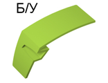 ! Б/У - Technic, Panel Car Mudguard Left, Lime (61071 / 4518816 / 6097767) - Б/У