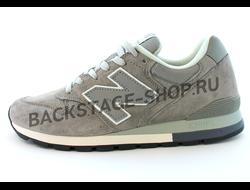 Мужские кроссовки New Balance 996 Gray замшевые