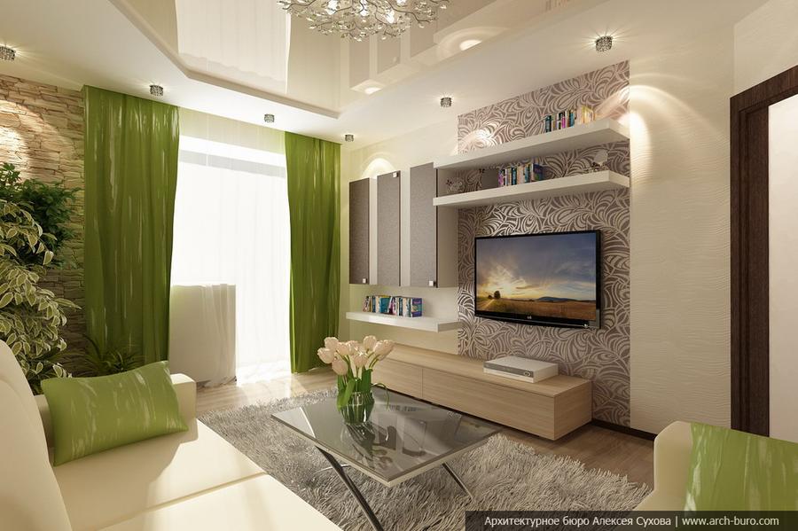 Дизайн и интерьеры квартир