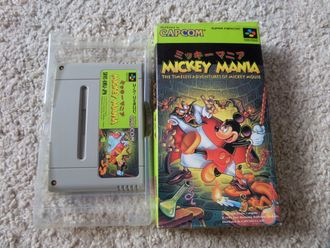 Mickey Mania SNES Super Famicom