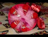 Букет из пяти игрушек кукол