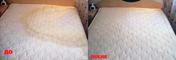 Как в домашних условиях почистить матрац