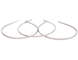 Ободок-основа металл (серебро) 5мм