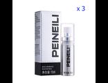 Мужской спрей для задержки преждевременного семяизвержения Peineili (3 флакона)