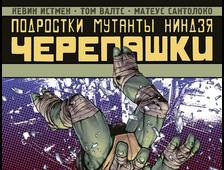 купить комикс падший город черепашки, купить комикс падший город черепашки в москве