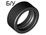 ! Б/У - Tire 14mm D. x 6mm Solid Smooth, Black (50945 / 4246901) - Б/У