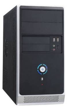 ПК P&C Office 312 MT P G5400 (3.7)/8Gb/1Tb 7.2k/UHDG 610/Free DOS/GbitEth/400W/черный