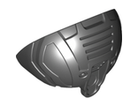 Hero Factory Shoulder Armor, Rounded, Pearl Dark Gray (98571 / 4652174 / 6122345)