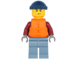 Explorer - Male, Dark Red Hooded Sweatshirt, Sand Blue Legs, Dark Blue Knit Cap, n/a (cty1175)