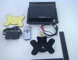 7'' сенсорный дисплей с пультом дистанционного управления и аналоговым входом