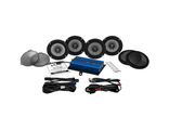 REV450U KIT-RM HOGTUNES AMPLIFIER/SPREAKER KIT REV SERIES 450 WATT (FLH 14+)