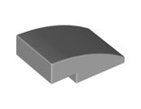 Slope, Curved 3 x 2 No Studs, Light Bluish Gray (24309 / 6132207)