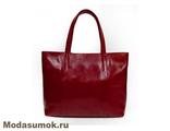 Сумка женская из натуральной кожи A.Valentino - 381 красная