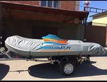 Тент транспортировочный (стояночный) на надувную лодку ПВХ длиной 460-510