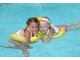 Надувной круг для плавания SWIMTRAINER Classic желтый до 8 лет