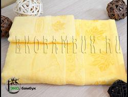 Бамбуковое полотенце спорт класс 48х98 Солнечный Клен