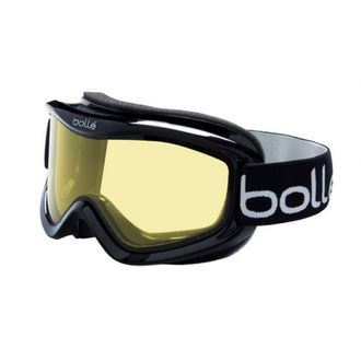 Маска Bolle MOJO shiny black/lemon р. M