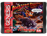 """Awessome Possum"" (Gen) Игра для Сега (Sega Game)"