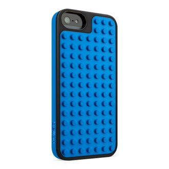 BLKN5 Belkin iPhone 5/5S/SE case black/blue, Blue