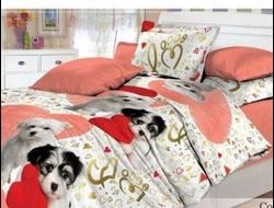СОБАЧКИ. Качественное и красивое постельное белье из поплина, только 100% хлопок.
