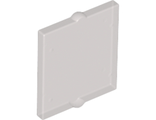 Glass for Window 1 x 2 x 2 Flat Front, Trans-Black (60601 / 4552036 / 6024022)