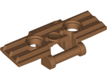Technic, Link Tread Wide with Two Pin Holes, Medium Nougat (57518 / 6097524)