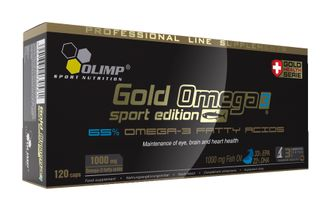 Olimp Gold Omega 3 Sport Edition (120 caps)