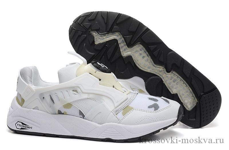 Puma Disc Blaze белые кроссовки (артикул-2)