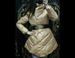 Женская весенняя куртка бежевая 002-100