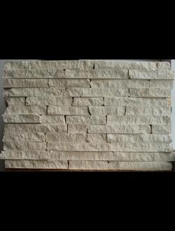 Облицовочный камень из травертина колотый, произвольной длинны