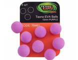 Texno EVA Balls 10mm purple уп/8шт