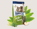 HAPPY CAT SUPREME ADULT ПАСТБИЩНЫЙ ЯГНЕНОК