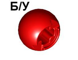 ! Б/У - Technic Ball Joint with Through Axle Hole, Red (53585 / 4543094 / 4615070) - Б/У