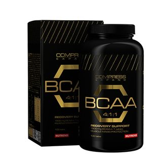 Nutrend Compress BCAA 100 табл.