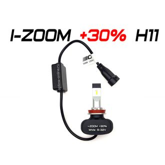 Optima LED i-ZOOM +30% H11 5500K