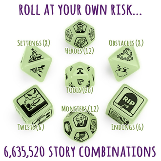 Scary Tales Dice