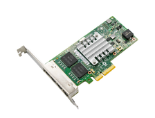 Сетевая Карта Intel  I350-T4 Quad RJ45 Gigabit Ports Server Adapter PCI-E , I350T4BLK