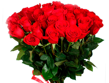 Голландские розы 90-100 см (25 шт.)