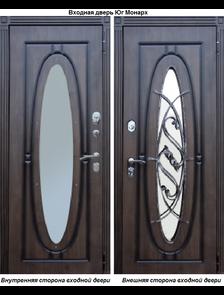 Металлическая дверь Юг Монарх Vinorit