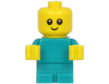 Baby - Dark Turquoise Body with Yellow Hands, n/a (cty1186)