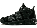 Supreme x Nike Air More Uptempo Black (41-46)