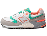 New Balance 999 White Grey Green