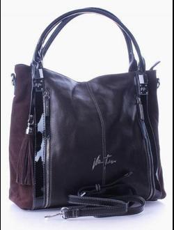 Кожаная  сумка   Velina Fabbiano